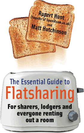 [Image: The Essential Guide to Flatsharing front cover]